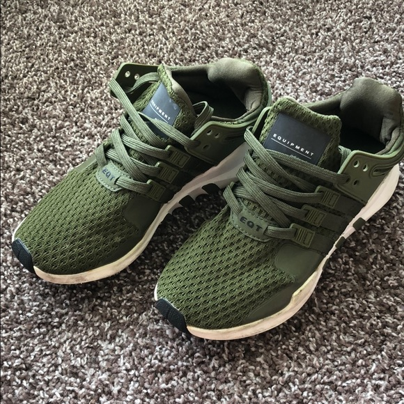 separation shoes c2621 9e525 Green adidas equipment sneakers